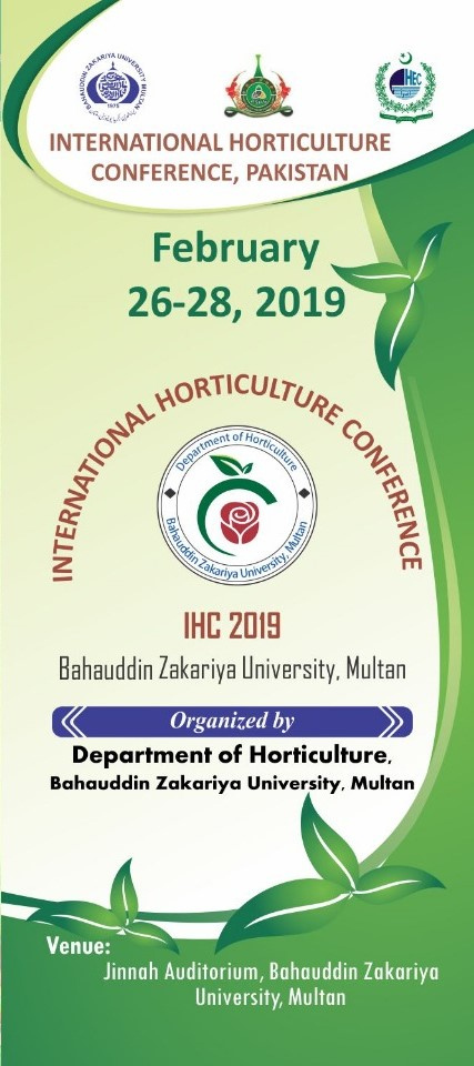 International Horticulture Conference – Pakistan Society for