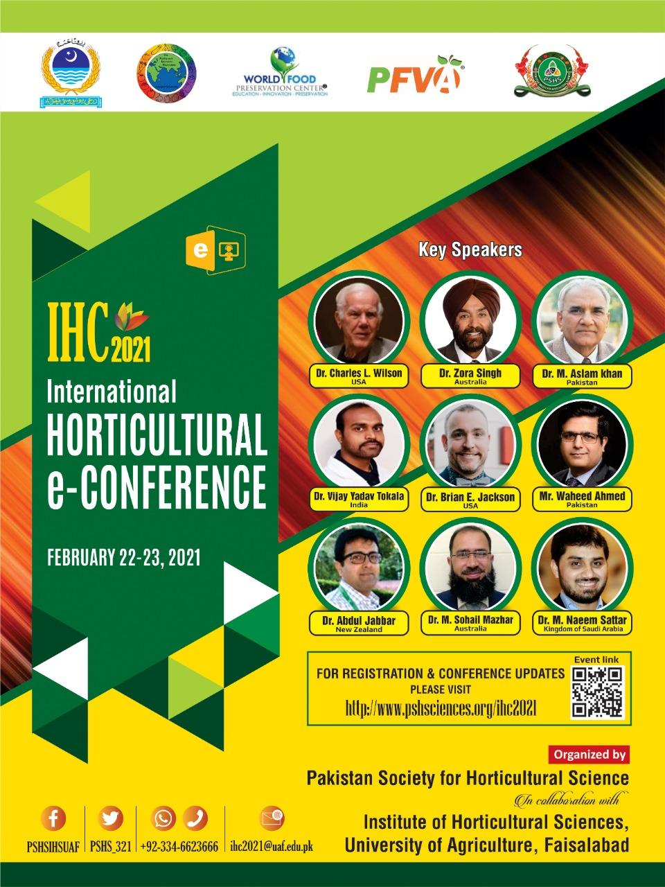 International Horticulture e-Conference 2021 - Pakistan ...